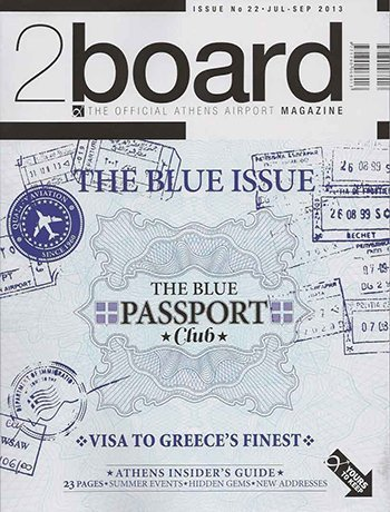 2BOARD THE OFFICIAL ATHENS AIRPORT MAGAZINE