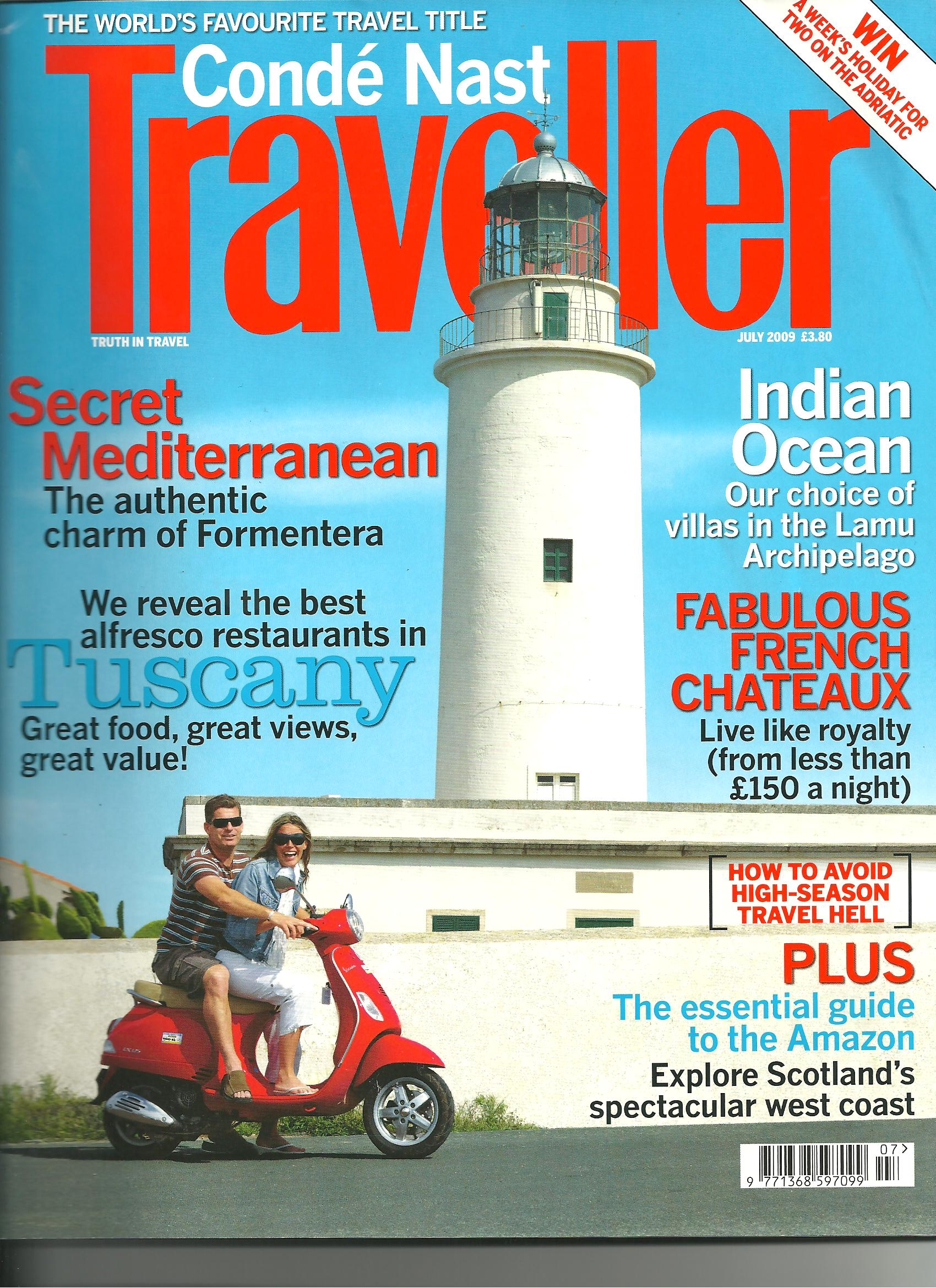 CONDE NAST TRAVELLER 2012 - GREECE