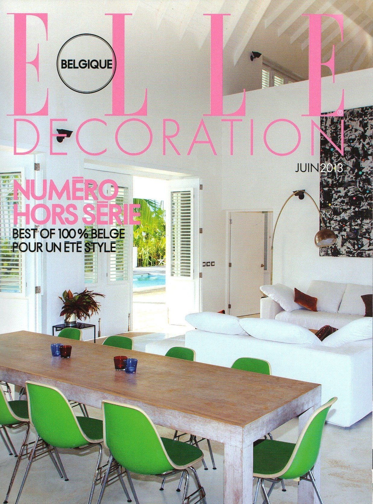 ELLE DECORATION JUNE 2013