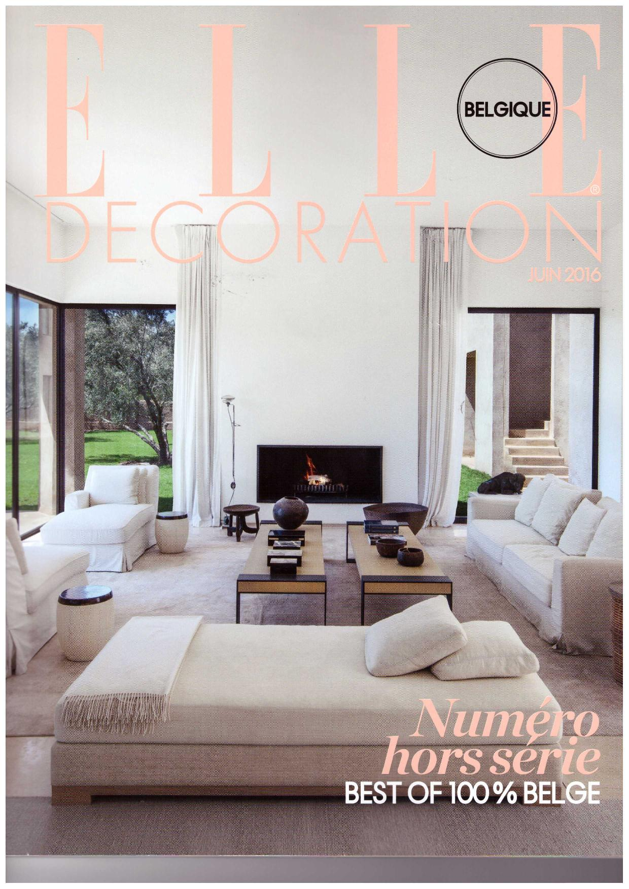Elle Decoration June 2016